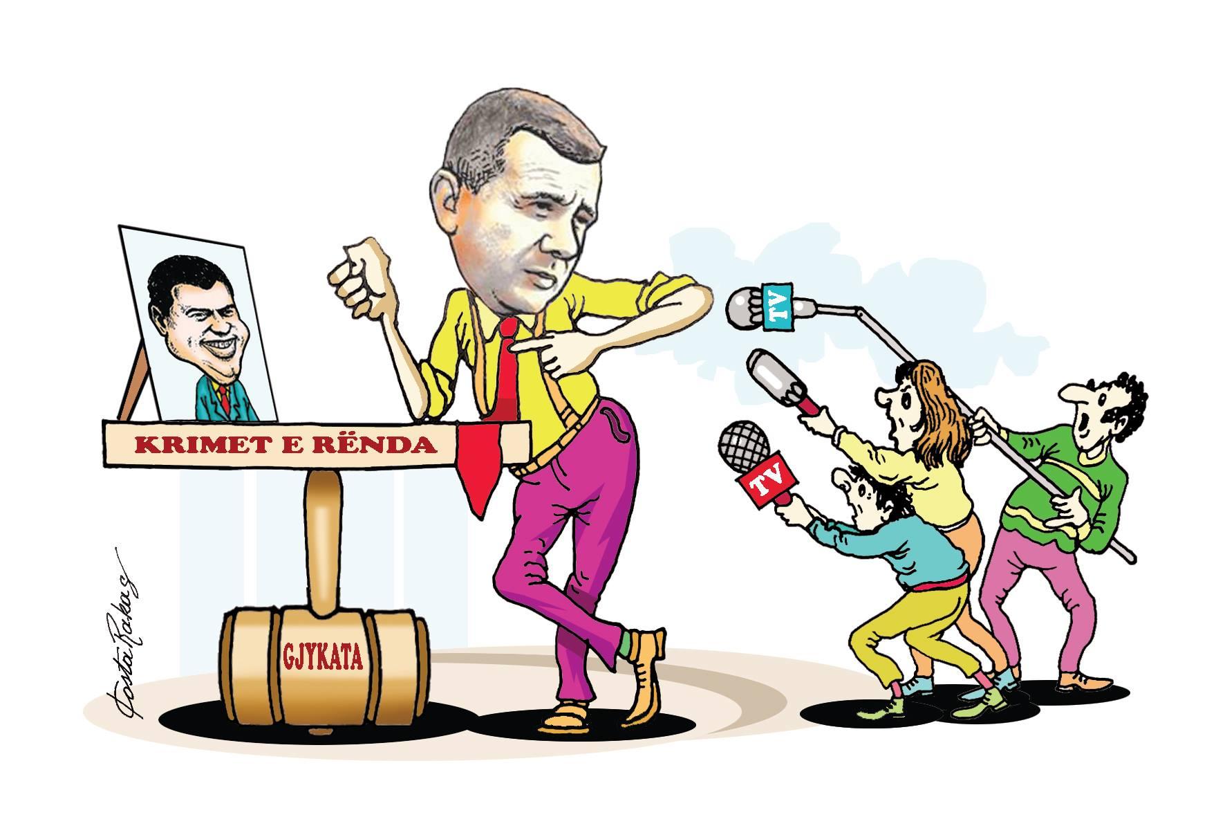Karikatura e ditës në Albanian Free Press nga Kosta Raka (11 korrik 2018)