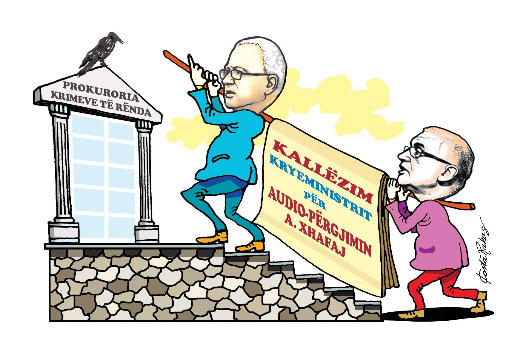 Karikatura e ditës në Albanian Free Press nga Kosta Raka (12 korrik 2018)