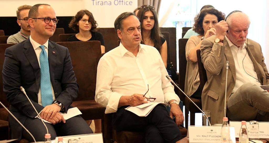 MEP Fleckenstein urges authorities in Tirana to do their homework