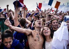 PARIS Triumfuesit priten si heronj te Harku i Tr