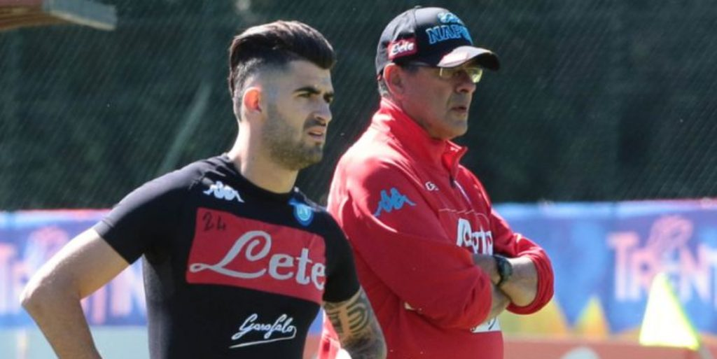 CHELSEA/ Napoli i jep shansin trajnerit Sarri të tërheqë Hysajn në Angli