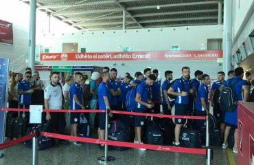 """CHAMPIONS/ Kukësi, udhëtimi """"përçan"""" ekipin drejt Bakusë"""