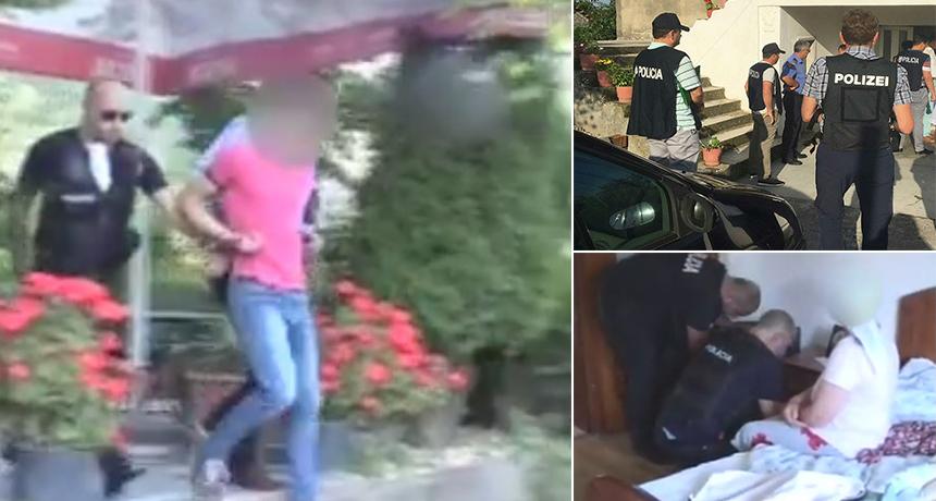 """Kryenin grabitje në Francë dhe Gjermani, arrestohen """"skifterët"""" shqiptarë të banesave"""