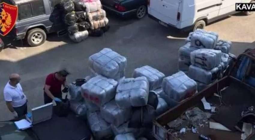 Mbyllen hetimet për 5 të arrestuarit me 1.3 ton kanabis në Kavajë, Krimet e Rënda dërgojnë dosjen për gjykim