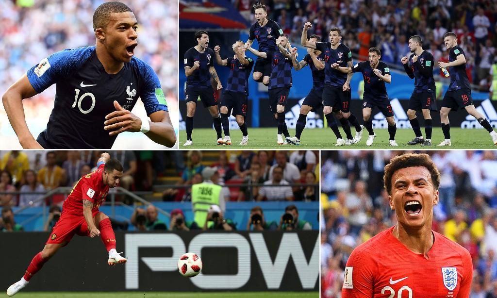 """Anglia dhe Franca """"superfuqitë"""",  Kroacia dhe Belgjika """"mrekullitë"""""""
