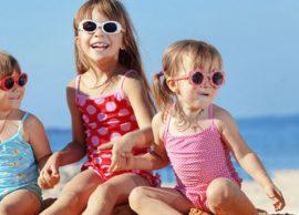 Syzet e diellit te fëmijët, jo modë por domosdoshm