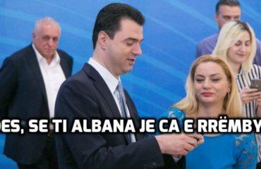 """""""ANTENA JASHTË FAMILJES""""/ Luli këshillon Albana Vokshin: Mos hajde në Kuvend...!"""