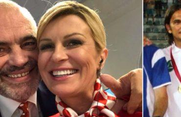 """""""ANTENA JASHTË FAMILJES""""/ Flet Presidentja e Kroacisë: Edi Rama ka gisht në arritjet e kombëtares sonë..."""