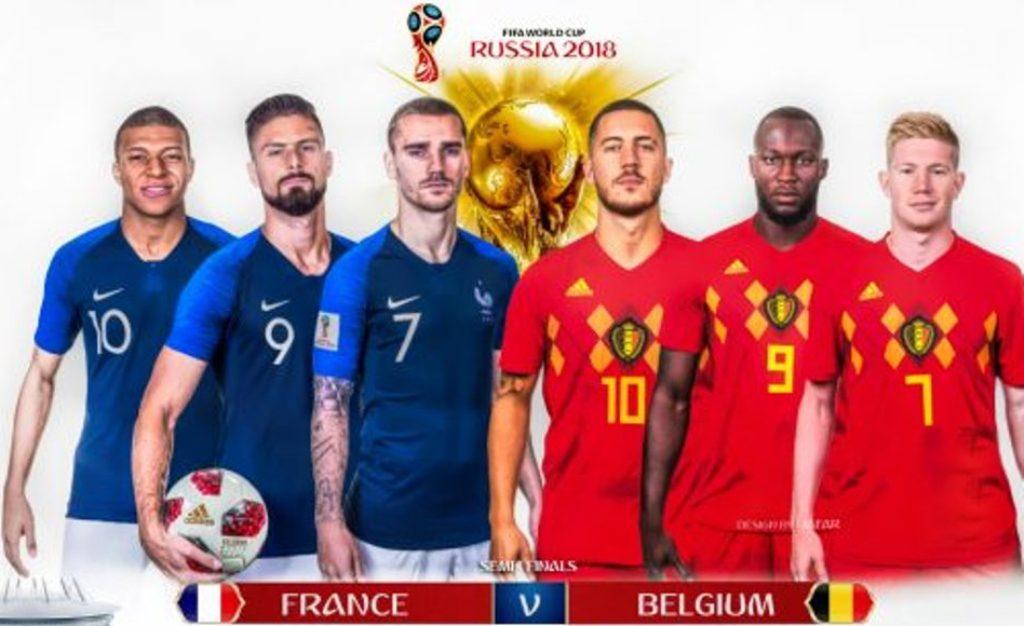 Francë-Belgjikë, spektakli i garantuar i këtij Botërori