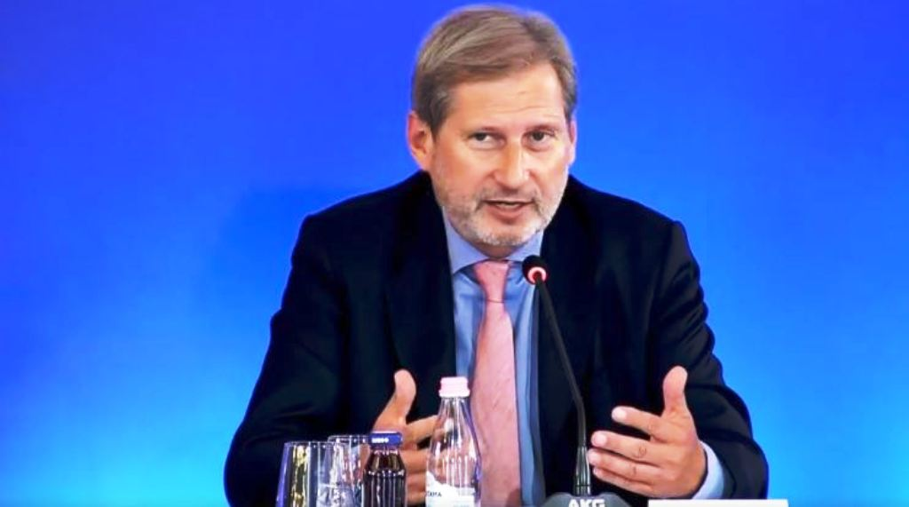 Hahn encourages Albanian authorities to push the reforms