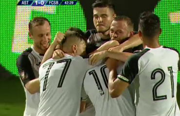 Azdren Llullaku, gol me dedikim në Rumani