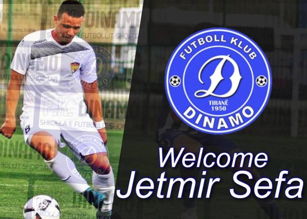 Plani i një rikthimi të madh, Dinamo zyrtarizon Jetmir Sefën