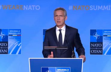 NATO's chief voices his regret about Kosovo's decision to form the army