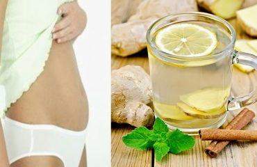 Çaj me xhinxher dhe kanellë për dobësim, lehtësim stomaku dhe qetësim nga gripi