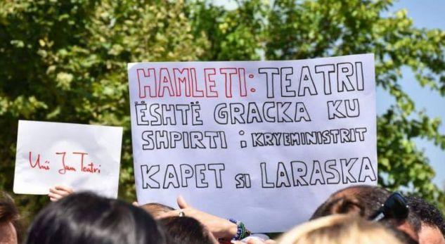 """Artistën i drejtohen Mohgerinit dhe zyrtarëve evropianë me letër, kundër ligjit për """"Teatrin"""""""