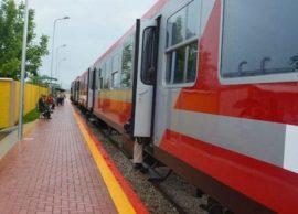 Me tren nga Tirana në Durrës, në hekurudhën e re b