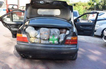 U kapën me 102 kg marijuanë në kufi, arrestohen shqiptari dhe greku