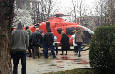 Aksidentohet rëndë me motor në Pukë, dërgohet me helikopter në Tiranë