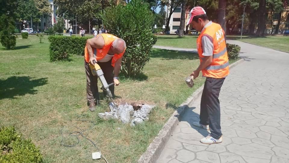 Nis puna për rigjenerimin e Parkut Rinia në kryeqytet