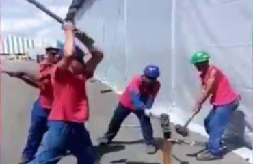 VIDEO/ Keni parë profesionistë të tillë? Këta dinë vërtet ta shndërrojnë punën në art