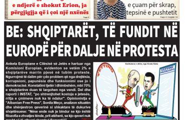 """Lexoni sot, 19 Shtator 2018, në gazetën e përditshme """"Albanian Free Press"""""""