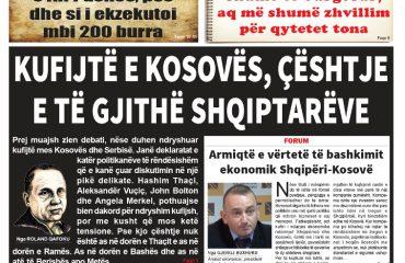 """Lexoni sot, 20 Shtator 2018, në gazetën e përditshme """"Albanian Free Press"""""""