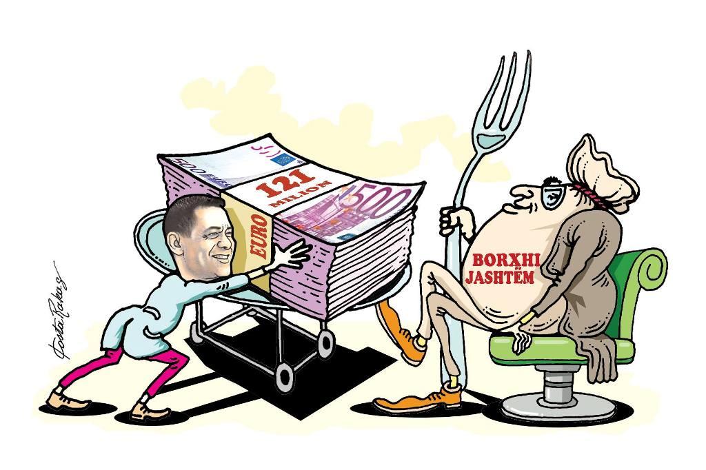 Karikatura e ditës në Albanian Free Press nga Kosta Raka (12 shtator 2018)