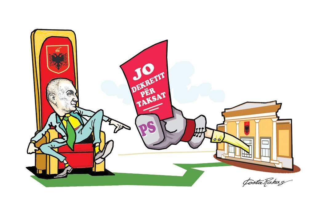 Karikatura e ditës në Albanian Free Press nga Kosta Raka (14 shtator 2018)