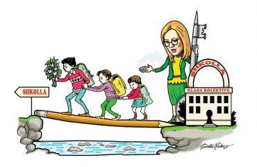 Karikatura e ditës në Albanian Free Press nga Kosta Raka (18 shtator 2018)