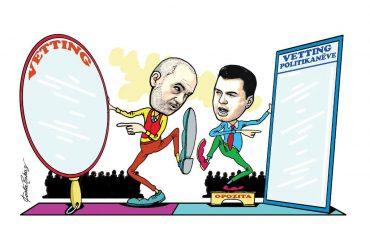 Karikatura e ditës në Albanian Free Press nga Kosta Raka (19 shtator 2018)