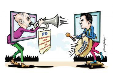 Karikatura e ditës në Albanian Free Press nga Kosta Raka (21 shtator 2018)