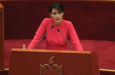 """Arta Marku para Kuvendit: Krimet më të shumta janë vjedhjet, """"kryeqyteti"""" i krimit është Vlora"""