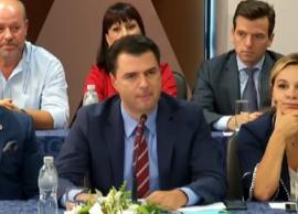 Opozita në Vlorë, Basha akuzon Bilanc lufte, me r