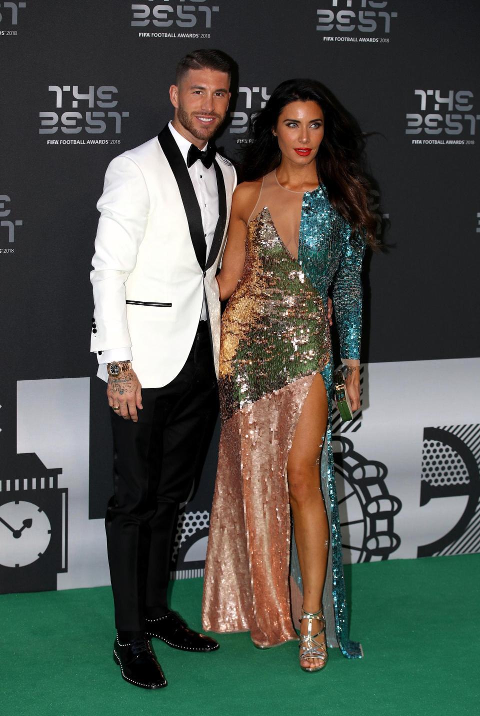 Ramos shkëlqen me bashkëshorten