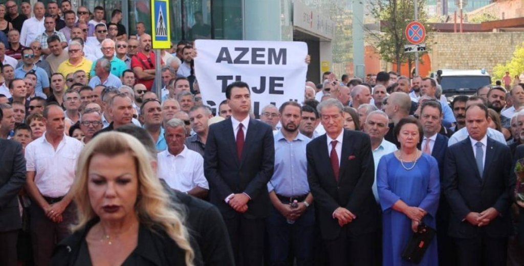 20 years since the murder of Azem Hajdari, homage paid for the hero of democracy