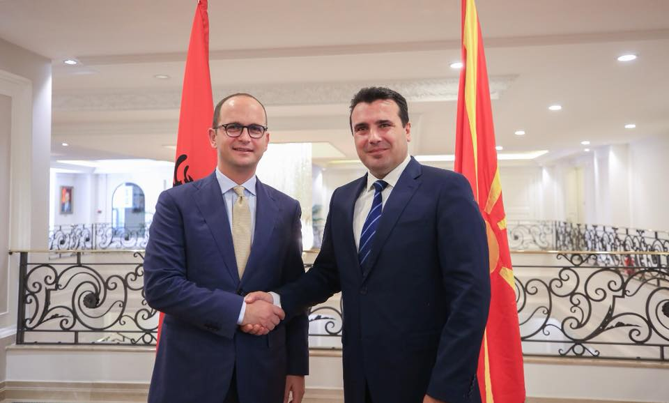 Bushati-Zaev: Vote in favour of the Prespa Agreement is the key to progress