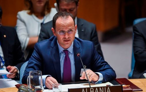 UN General Assembly, Bushati holds meetings with representatives of the Albanian diaspora