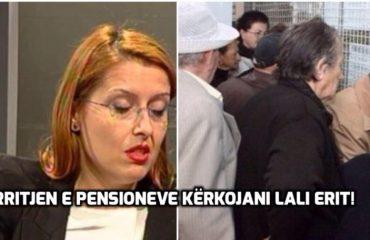 """""""ANTENA JASHTË FAMILJES""""/ Shoqja Ogerta Manastirliu: Për pensionet, pyesni shokun Erion!"""