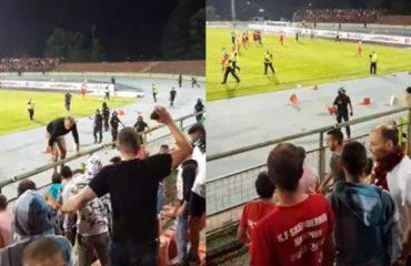 Policia jashtë stadiumeve tona, vendim i drejtë apo i gabuar?