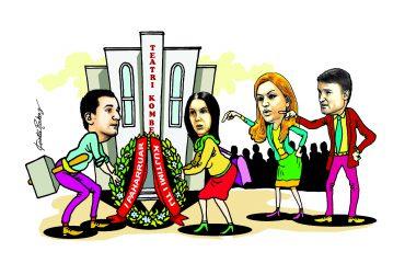 Karikatura e ditës në Albanian Free Press nga Kosta Raka (20 shtator 2018)