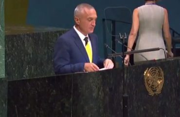 """Albanian president in the UN: We also had our """"Mandelas"""""""