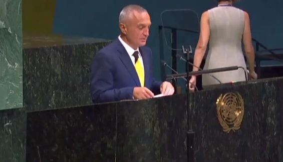 "Albanian president in the UN: We also had our ""Mandelas"""