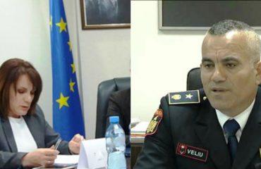 """""""Shullazi"""" trazon uniformat blu, Kryepolici Ardi Veliu takim me kreun e Prokurorisë për Krimet e Rënda"""