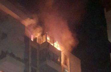 Zjarr në Gramsh, digjet një sipërfaqe pyjore pranë qytetit, flakët kërcënim për banesat