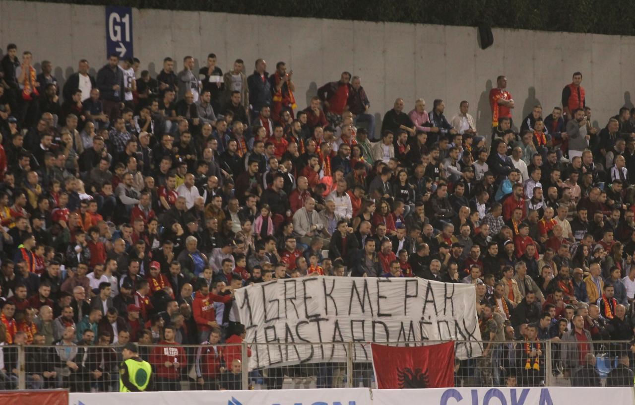 """FSHF """"karton të kuq"""" Partizanit për parullën anti-greke nga tifozët"""