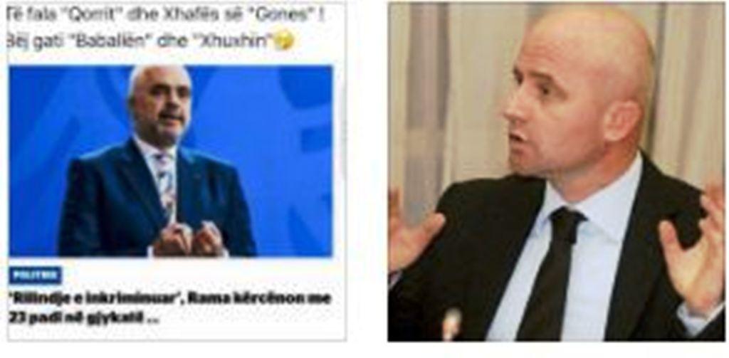 """Strazimiri-Ramës: Të fala """"Qorrit""""dhe Xhafës, bëj gati """"Baballën"""" dhe """"Xhuxhin"""""""
