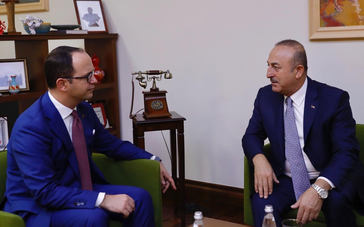 Turkish Foreign minister demands the Albanian government to close down Gullen's schools