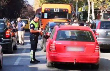Kontrollet në fundjavë, arrestohen 27 shoferë të dehur dhe pa dokumente