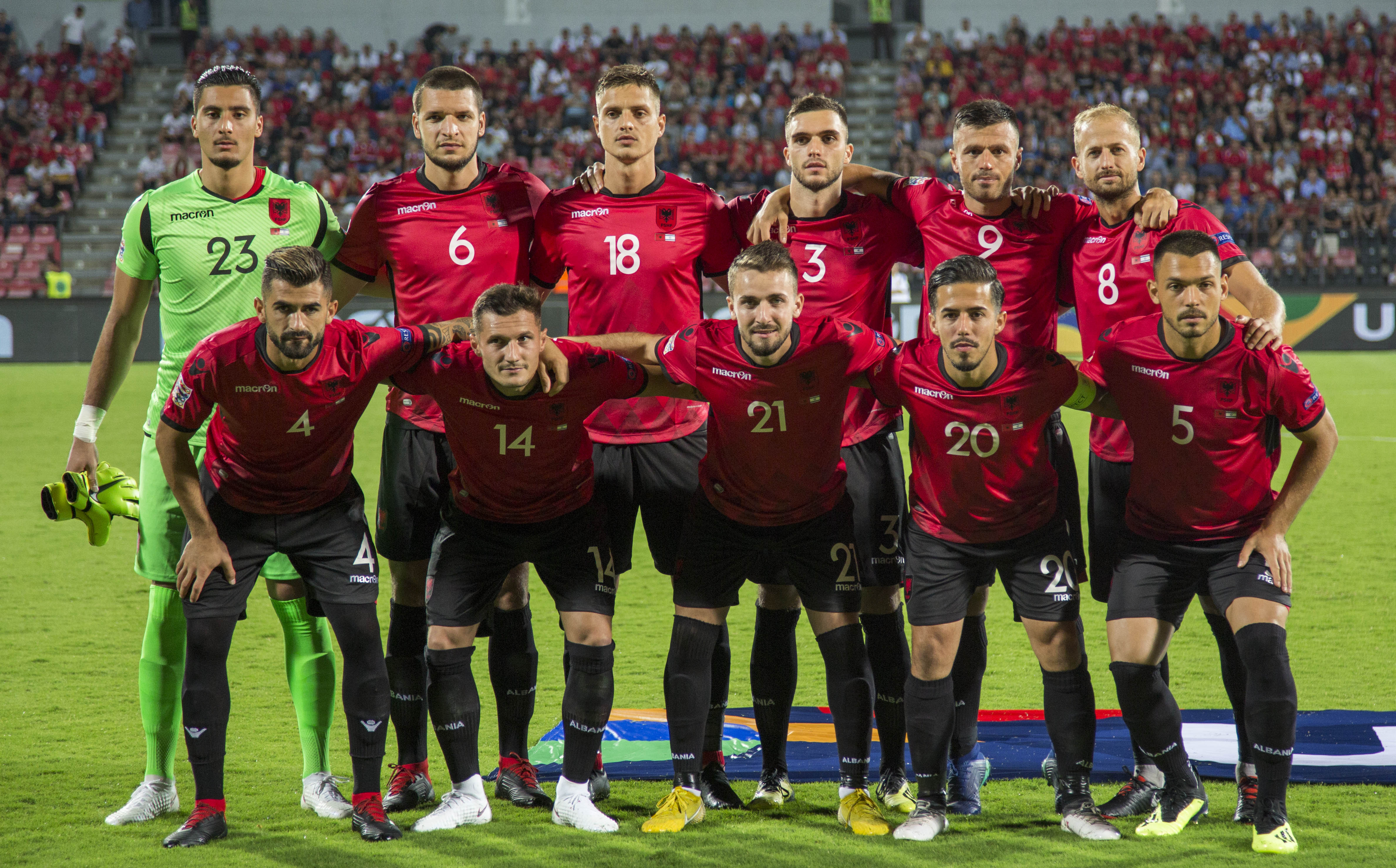 Jordania dhe Izraeli, Panucci shpall listën: Kaja, Dermaku, Uzuni e Vrioni risitë kuqezi (Agolli jashtë)