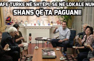 """""""ANTENA JASHTË FAMILJES""""/ Erion Veliaj shikon fatin në filxhanin e kafesë!"""